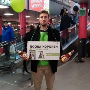 Noora Koponen eduskuntavaalit 2015